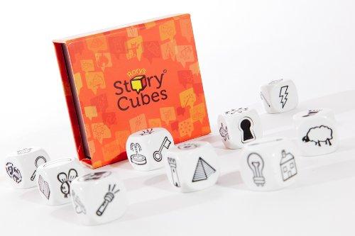 Asmodee Story Cubes: Clásico - Todas las versiones disponibles, Multilenguaje (STO01ML)