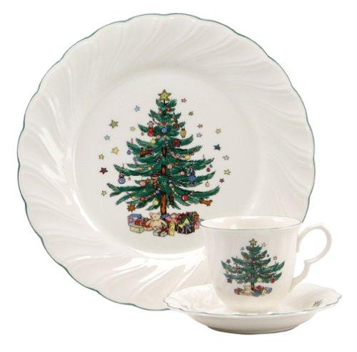 Nikko Ceramics Happy Holidays 12-Piece Dinnerware Set, Service for 4