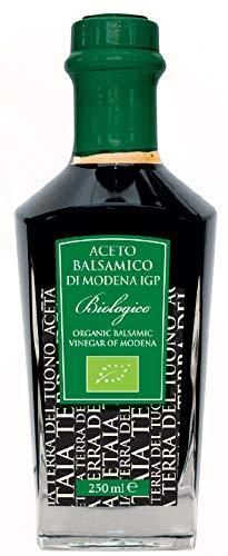 Acetaia Terra Del Tuono Vinagre Balsámico Orgánico De Módena I.G.P, 250 Ml 4400 g