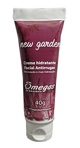Hidratante Facial New Garden C/Óleo Avestruz Ômegas Da Amaz