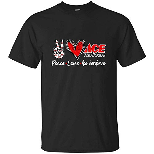 Peace Love ace Hardware Special Version t Shirt, Hoodie, Sweatshirt, g Vintage, t-Shirt, Hoodie, Crewneck Sweatshirt 25 Black