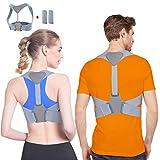 Corrector de Postura Corrector Postura Para Hombre y Mujer Espalda Férulas para espalda, Ideal para Aliviar el Dolor,...