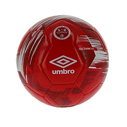 Umbro Stade Reims - Mini Pallone Neo Trainer VCS Unisex, Unisex - Adulto, 753670-70, T5 Rouge, FR : Taille Unique (Taille Fabricant : 5)