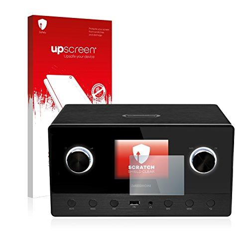 upscreen Schutzfolie kompatibel mit Medion Life P85111 (MD 87295) – Kristallklar, Kratzschutz, Anti-Fingerprint