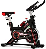 Pro Sport Exercise Bike Indoor Studio Cycle Gym Machine Cycling Home Cardio Fitness