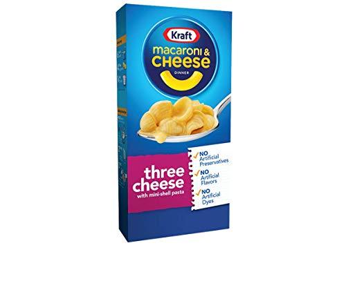 Kraft Macaroni amp Cheese with Three Cheese Sauce 725 oz
