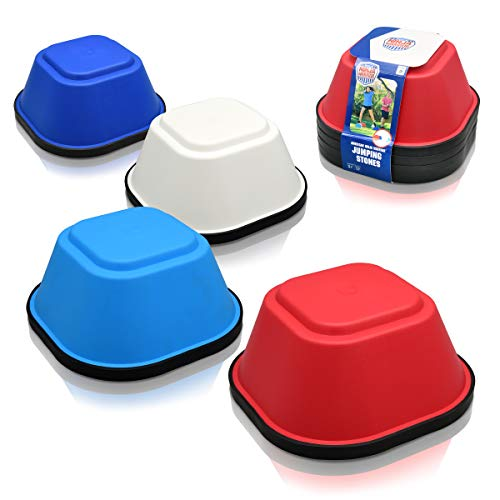 Best Bargain American Ninja Warrior Jumping Stones - 4 ANW Balance Stepping Stones Obstacle Course f...
