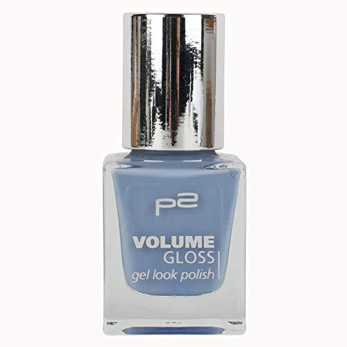 P2 VOLUME GLOSS gel look Nail Polish Nr. 098 working girl Farbe: Königsblau Inhalt: 12ml - Nagellack für tolle Nägel.