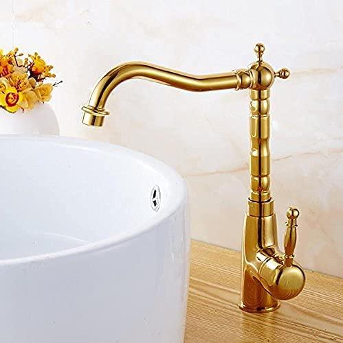 SENWEI Retro Stil Kran Küchenarmatur Schwenker Badezimmer Waschbecken Wasserhahn Messing Waschbecken Wasserhahn Wasser
