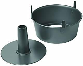 Chicago Metallic Non-Stick 2-Piece Angel Food Cake Pan with Feet by CHICAGO METALLIC