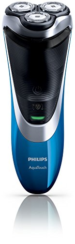 Philips Aquatouch Plus AT890/16, Wet & Dry Elektrorasierer mit DualPrecision Rasur und Pop-Up Trimmer