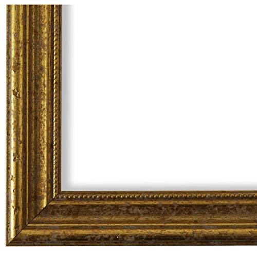 Online Galerie Bingold Bilderrahmen Gold 40 x 50 cm 40x50 - Antik, Barock, Vintage - Alle Größen - handgefertigt - WRF - Livorno