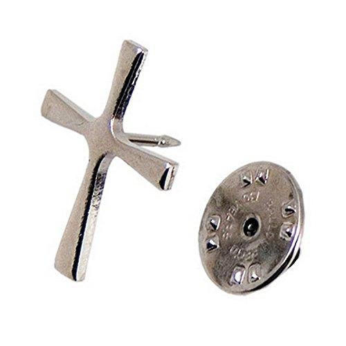 Anstecknadel Kreuz aus Metall, Grösse ca 2,2 cm