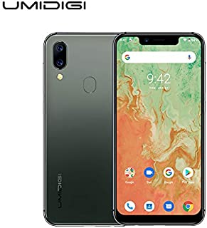 "UMIDIGI A3X Unlocked Cell Phones 2020, 3GB +16 GB Android 10 5.7"" Incell Mobile Phone, 2 Nano SIMs+Micro-SD, 16MP+5MP+12 MP AI Selfie Camera, Dual 4G Volte, 3300mAh, AI Face Unlock - Green"