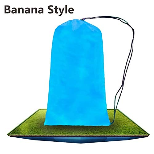 Gneric Inflatable Sofa Saco de Dormir Perezoso Bolsa Ocioso al Aire Libre Que acampa Impermeable de la Playa de Picnic de Aire Inflable sofá Cama Descargas Digitales del cojín del sillón Laybag