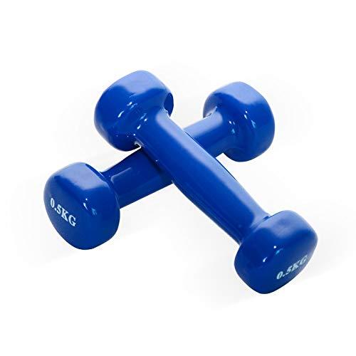 ダンベル 0.5Kg 2個セット ベーシック ダンベル ネオプレンダンベル,筋力トレーニング 筋トレ シェイプアップ 鉄アレイ 鉄アレー