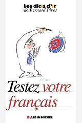 Testez votre français Broché