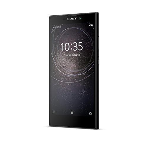 """Sony Xperia L2 - Smartphone de 5"""" (Quad Core 1.45 GHz, RAM de 3 GB, Memoria Interna de 32 GB, cámara de 13 MP, Android), Color Negro"""