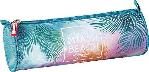 BRUNNEN 1026354957 Schlamper-Etui rund RVS Miami
