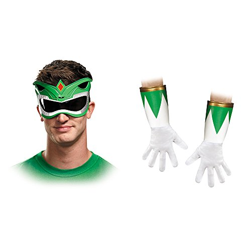 Disguise Men's Green Ranger Adult Accessory Kit, Green, One Size