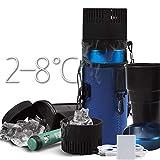 LKAIBIN refrigerador de coche portátil mini taza de insulina refrigerador USB y caliente 2-8 °C médico frige 730ML multifunción 5V adecuado para viajes/camping