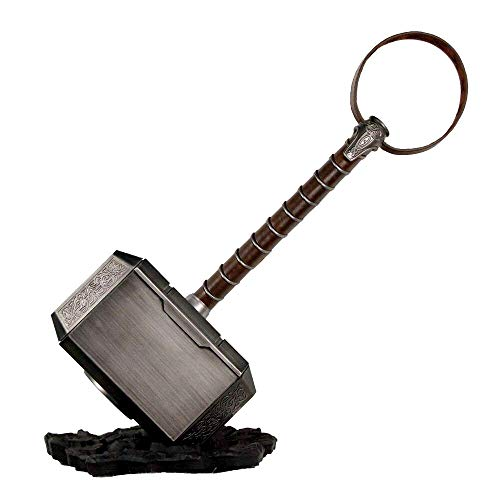 DMAR Martello e Base per battaglie Thor assemblati | Salvadanaio Ragnarok Hammer smontabile | Mjölnir Halloween Cosplay Costume Prop di Film 1: 1