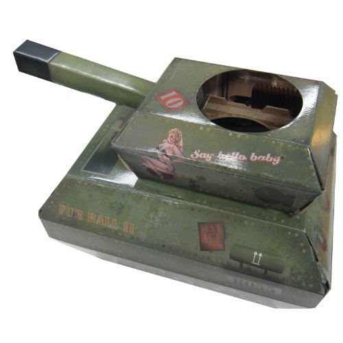 『サック・ユー・ケー (suck UK) サック・ユー・ケー キャットプレイハウス 戦車』のトップ画像