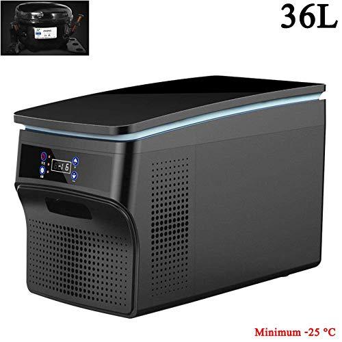 (26L/36L) Frigo De Camping Glaciere Electrique 24V/12V/220-240V 4 Mini Refrigerateur De Voiture RFrigRateur Portable Voiture Au Bureau Ou Camping,36L