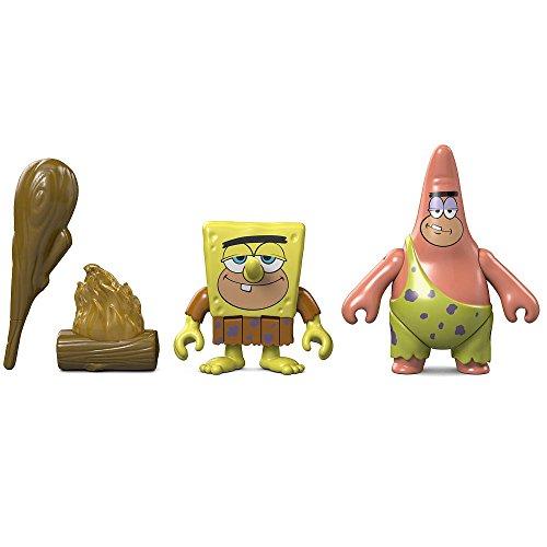 Imaginext, Spongebob SquarePants, Caveman Spongebob & Caveman Patrick Exclusive Action Figures