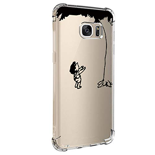Kompatibel Mit Samsung Galaxy S6 Hülle,Transparent Handyhülle Crystal Clear Ultra Dünn Durchsichtige Weiche Silikon Schutzhülle Schutz Case Bumper Cover für Samsung Galaxy S6 (7)