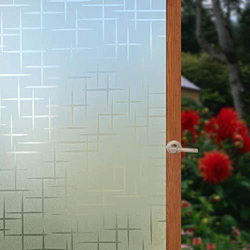 Arthome 3D Película de Privacidad Ventana Pegatina Decorativa Vidrio Anti UV Adherencia Electrostática para Hogar Cocina Baño...