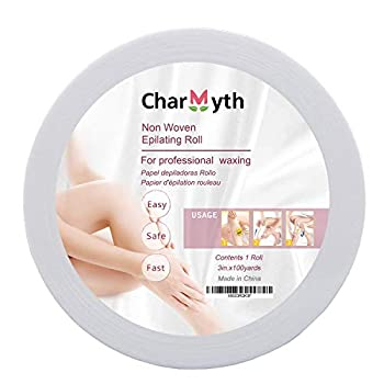 Charmyth Wax Strips Epilating Roll Non Woven Disposable for Body & Face 100 Yard Hair Removal Waxing Strips