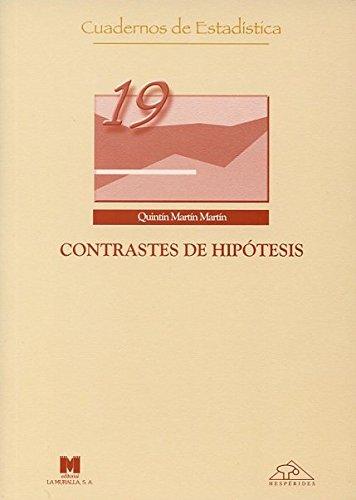 Contrastes de hipótesis (Cuadernos de estadística)
