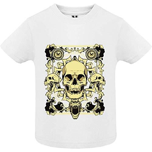 LookMyKase T-Shirt - Last Smile - Bébé Garçon - Blanc - 2ans