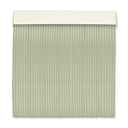 Cortinas Exterior Puerta | 6 Cañas Plastico PVC y Barra Aluminio | Ideal para Terraza y Porche | Antimoscas | Gris | 210 * 90