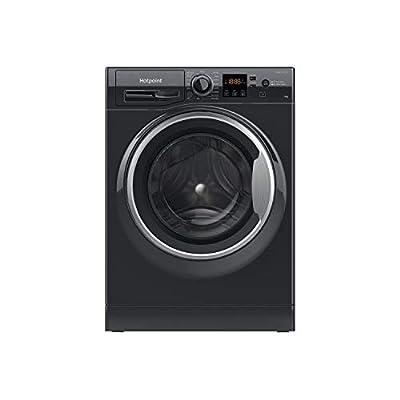 Hotpoint NSWM1043CBSUKN 10kg 1400rpm Freestanding Washing Machine - Black