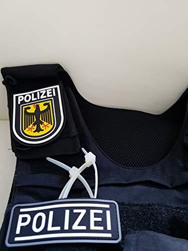 ATG Polizei Patch klein (10 x 3,5 cm)