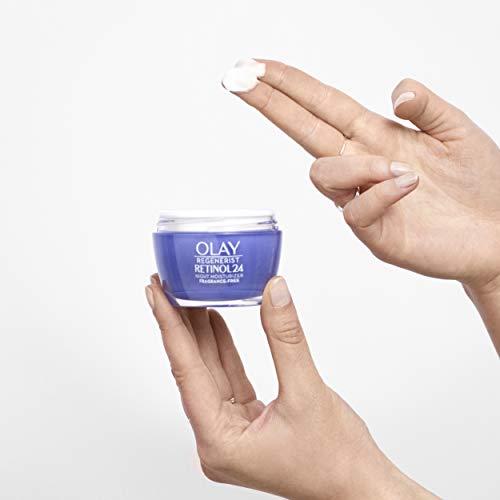 41W1LrTDrcL - Olay Regenerist Retinol Moisturizer, Retinol 24 Night Face Cream, 1.7oz + Whip Face Moisturizer Travel/Trial Size Bundle