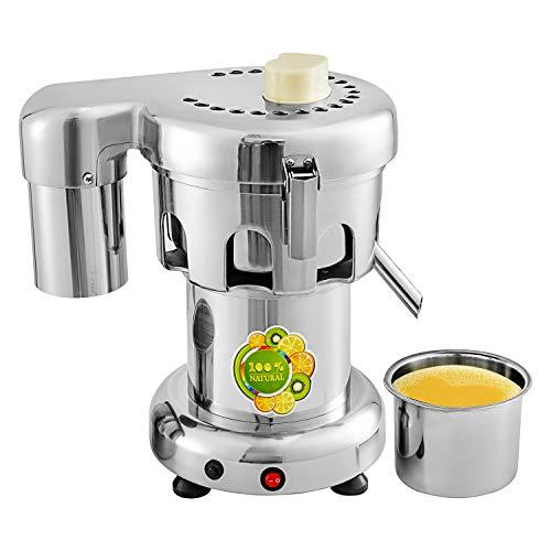 GorillaRock Juicer Machine   Fruit and Vegetables Juice Maker   Stainless Steel Blades   Commercial Juice Extractor   110V