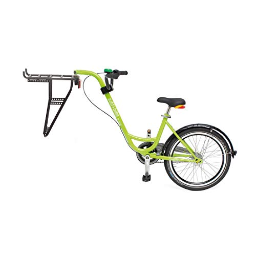 ROLAND Unisex – Trailer Add + Bike 3091803500 Bike, Verde, Taglia unica