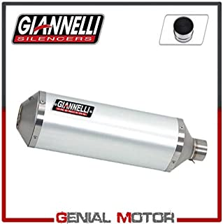 73764A6S+70505CT Escape Giannelli Ipersport Aluminio + Cataliz GPR 125 4T 4V 2010 > 2015
