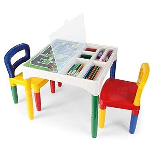 Mesinha Didática Infantil Com Cadeiras 5825 Poliplac