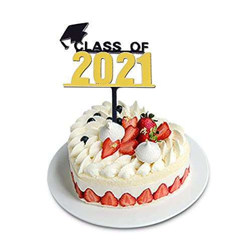 $3.49 Class of 2021 Cake Topper Use promo code: 507Y4KAC There is no quantity limit
