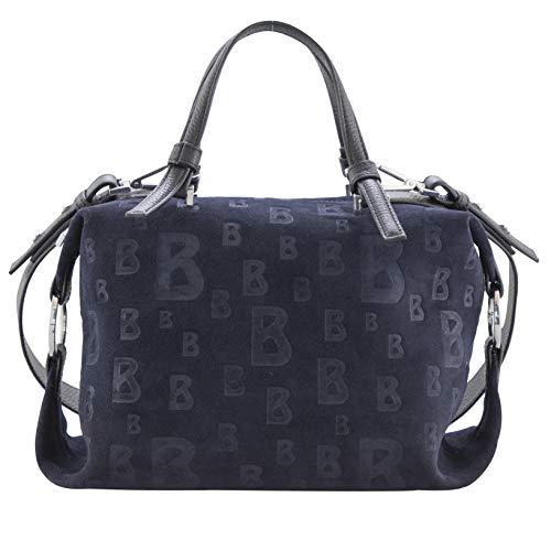 Bogner Damen Handtasche Lofer Sofie aus Leder Schultertasche mit Reißverschluss