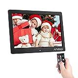 Cadre Photo numérique Andoer 10 Pouces IPS Télécommande Ultra-Sensible 2,4G Album...