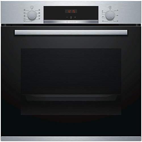 Bosch - Forno Elettrico da Incasso HBA534BS0 Capacità 71 L Multifunzione Ventilato Colore Acciaio Inox