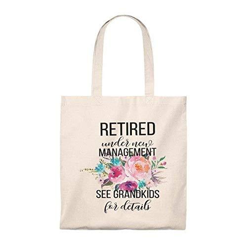 Bolsa para abuela de regalo de jubilación para abuela, regalo de jubilación, bolsa de retiro, ideas de regalo de jubilación, bolsa de mercado de jubilación