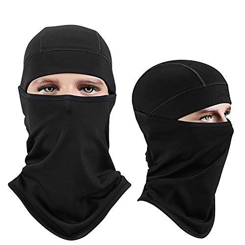 KY&cL Passamontagna - Maschera da Sci Caldo Antivento  Scaldacollo  prevenire Le allergie - Fodera per Casco da Snowboard per Snowboard da Uomo in Pile Poliestere da Uomo, 1 Pezzo