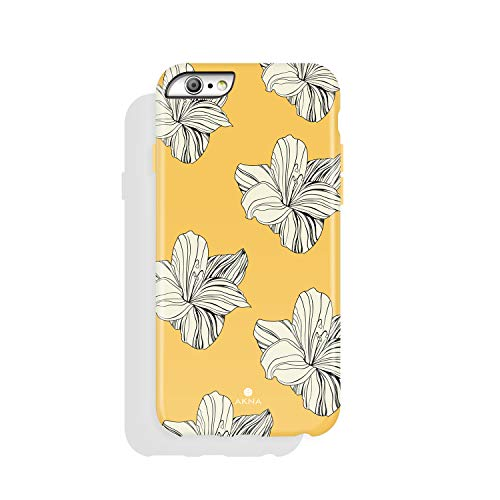 iPhone 6/6s case, Floral Design, Akna High Impact Flexible Silicon Case for Both iPhone 6 & iPhone 6s (216-U.S)