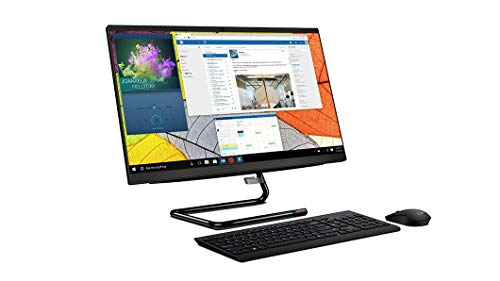 Lenovo IdeaCentre A340 multitouch All in one Desktop: 23.8', i3-8100T, 12GB DDR4 RAM, 256GB SSD, DVD-RW Burner, Win 10 Home